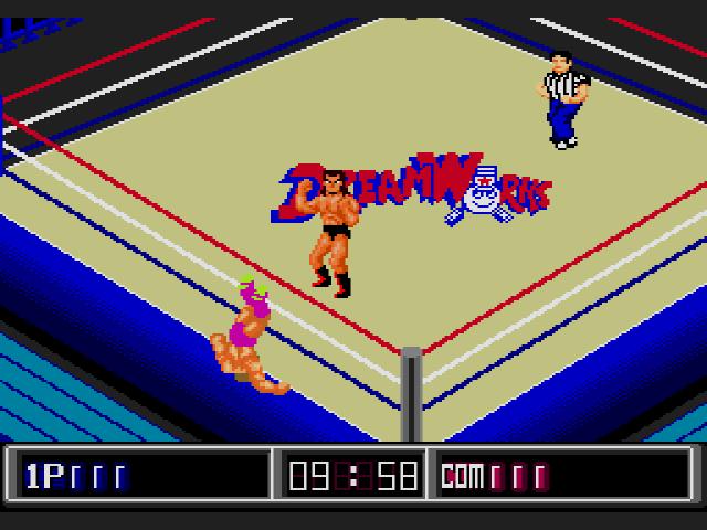 Jesse Ventura Wrestling Superstars Gameplay 2