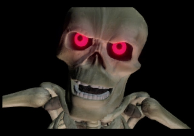 Mr. Bones - Game Over