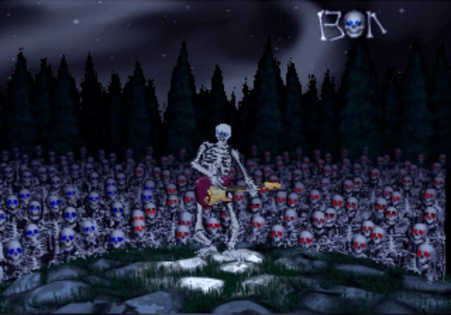 Mr. Bones - Guitar Solo