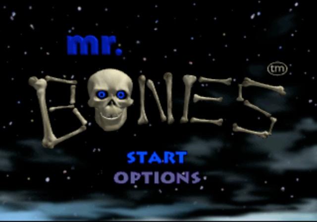 Mr. Bones - Title Screen