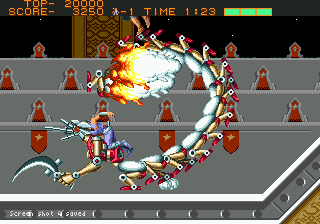 Strider - First Level Boss
