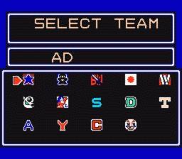 Baseball Stars Team Selection