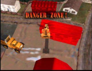 Blast Corps Danger Zone