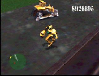 Blast Corps Robot