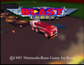 Blast Crops Title Screen