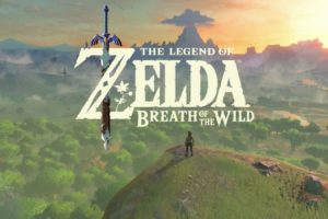 Breath of the Wild Title Screen