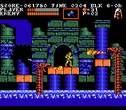 Castlevania III Fire Breathing Dragons