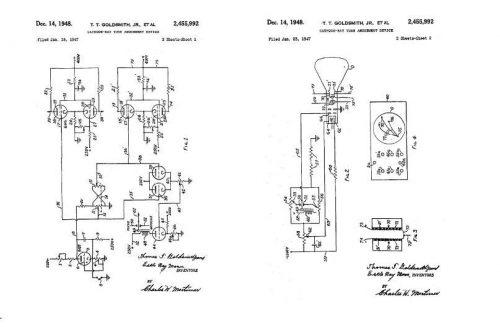 Cathode-Ray Tube Amusement Device Patent