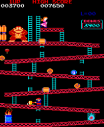 Donkey Kong Stage 1