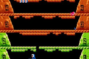 Ice Climbers Start of Stage