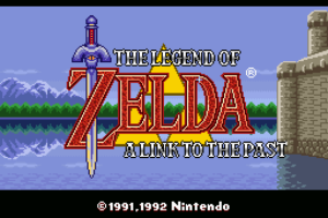 Legend of Zelda - A Link To The Past Title Screen