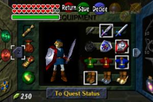 Legend of Zelda Ocarina of Time - Screenshot 8