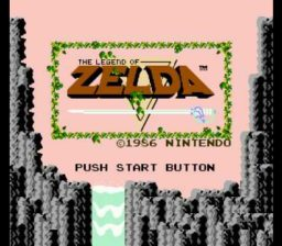 Legend of Zelda Title Screen