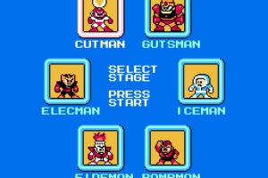 Mega Man Selection Screen