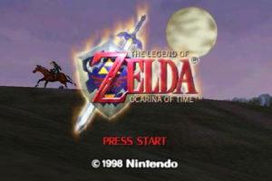 Ocarina of Time - Title Screen