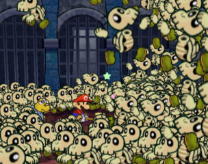 Paper Mario - The Thousand-Year Door Dry Bones