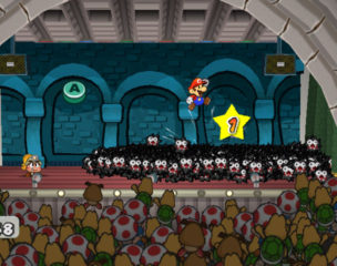 Paper Mario - The Thousand-Year Door Jump Hit