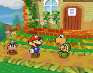 Paper Mario - The Thousand-Year Door Mario and Party