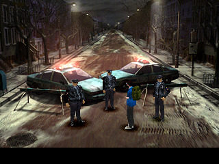 Parasite Eve Manhattan in Crisis