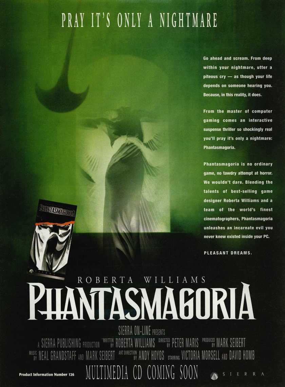 Phantasmagoria Advertisement