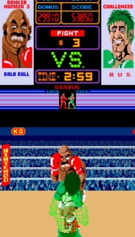 Punch-Out!! Bald Bull