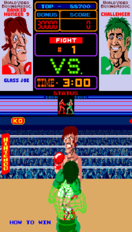 Punch-Out!! Glass Joe Fight
