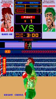Punch-Out!! Glass Joe Right Jab