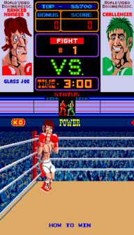 Punch-Out!! Glass Joe