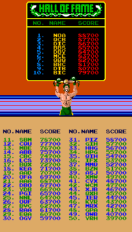 Punch-Out!! Hall of Fame