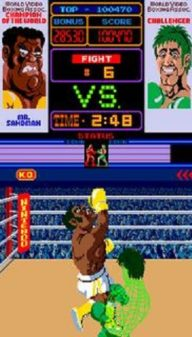 Punch-Out!! Mr Sandman