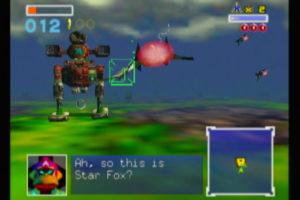 Star Fox 64 Battle