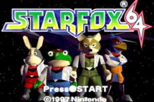 Star Fox 64 Title Screen