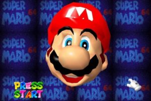 Super Mario 64 Start Screen
