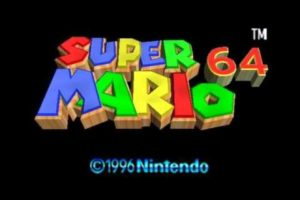 Super Mario 64 Title Screen