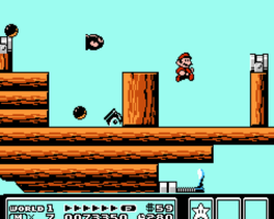 Super Mario Bros 3 Pirate Ship