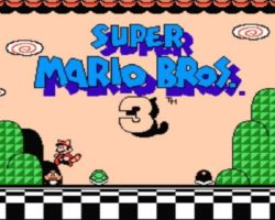 Super Mario Bros 3 Title Screen