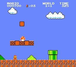 Super Mario Bros Opening Stage