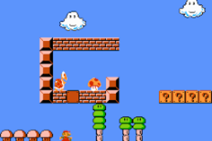 Super Mario Bros The Lost Levels - World 1-1