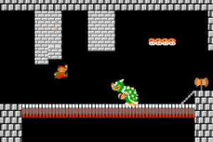 Super Mario Bros The Lost Levels - World 2-4