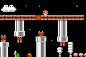 Super Mario Bros The Lost Levels - World 7-1
