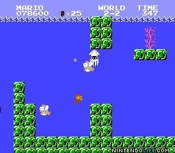 Super Mario Bros Water Stage