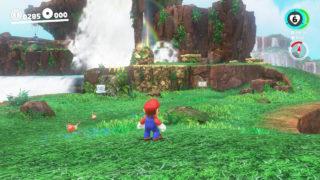 Super Mario Odyssey Cascade Kingdom
