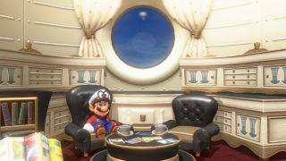Super Mario Odyssey Inside the Odyssey
