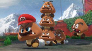 Super Mario Odyssey Mario Gomba