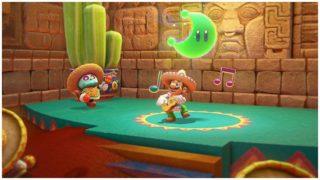 Super Mario Odyssey Playing Guitar