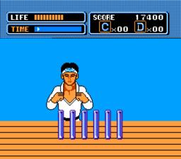 The Karate Kid Ice Breaking Bonus Stage