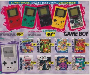 Toys R Us Catalog Game Boy