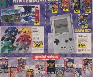 Toys R Us Catalog Nintendo 64