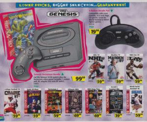 Toys R Us Catalog Sega Genesis
