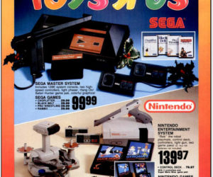Toys R Us Catalog Sega Master System and NES